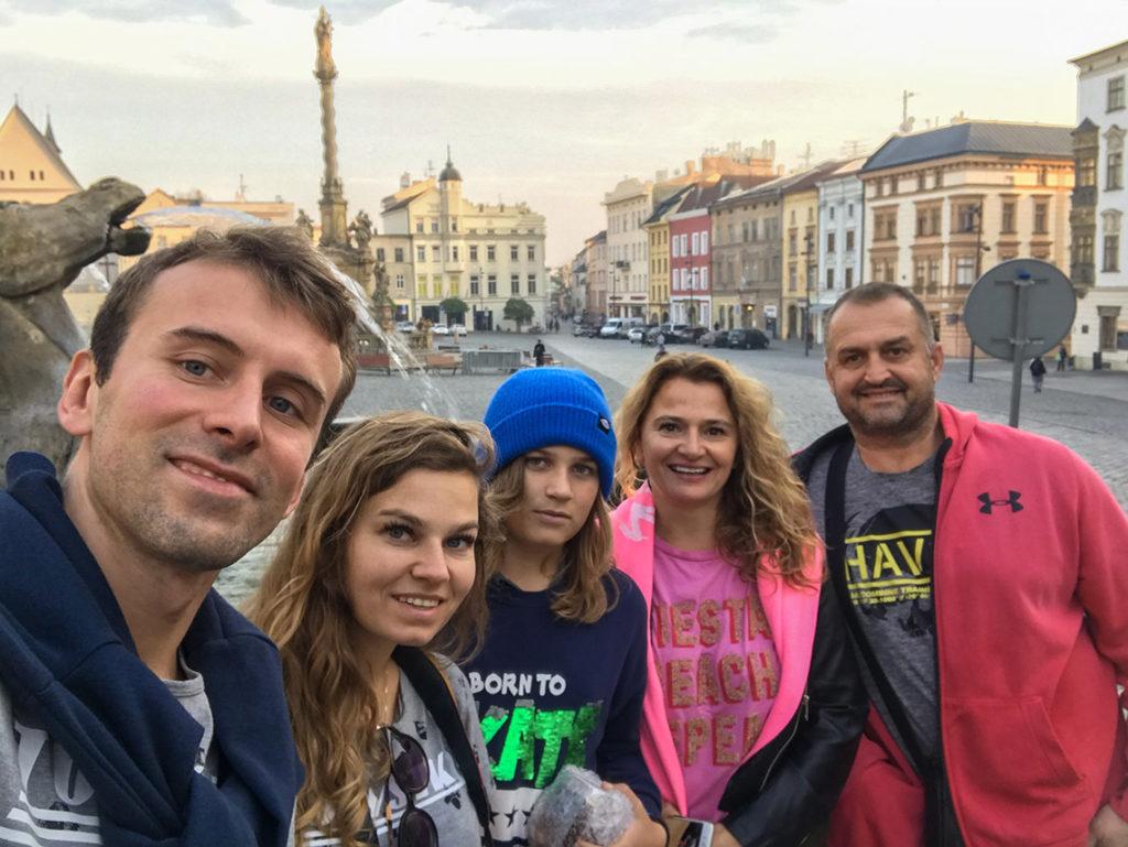 Szymiec Team w Ołomuńcu