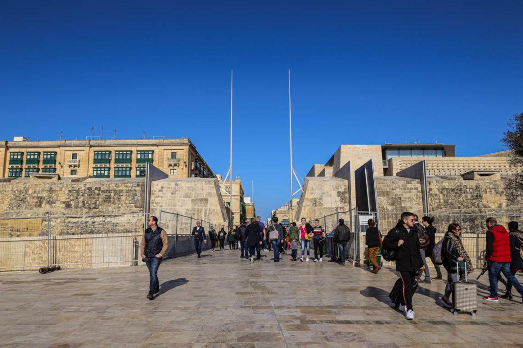 Valletta - Brama Miejska, 2 marca 2019