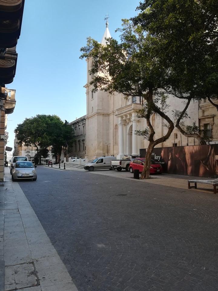 Valletta - Konkatedra świętego Jana, 17 kwietnia 2020. Fot. Adrienn Molnár
