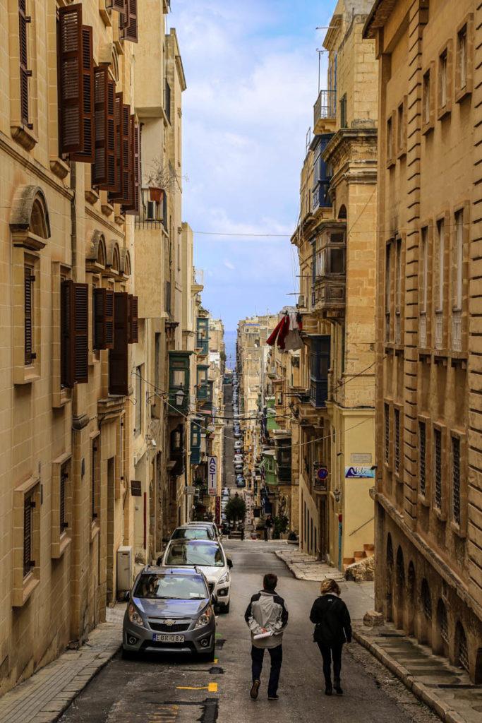 Valletta - St. Ursula Street, 1 marca 2019