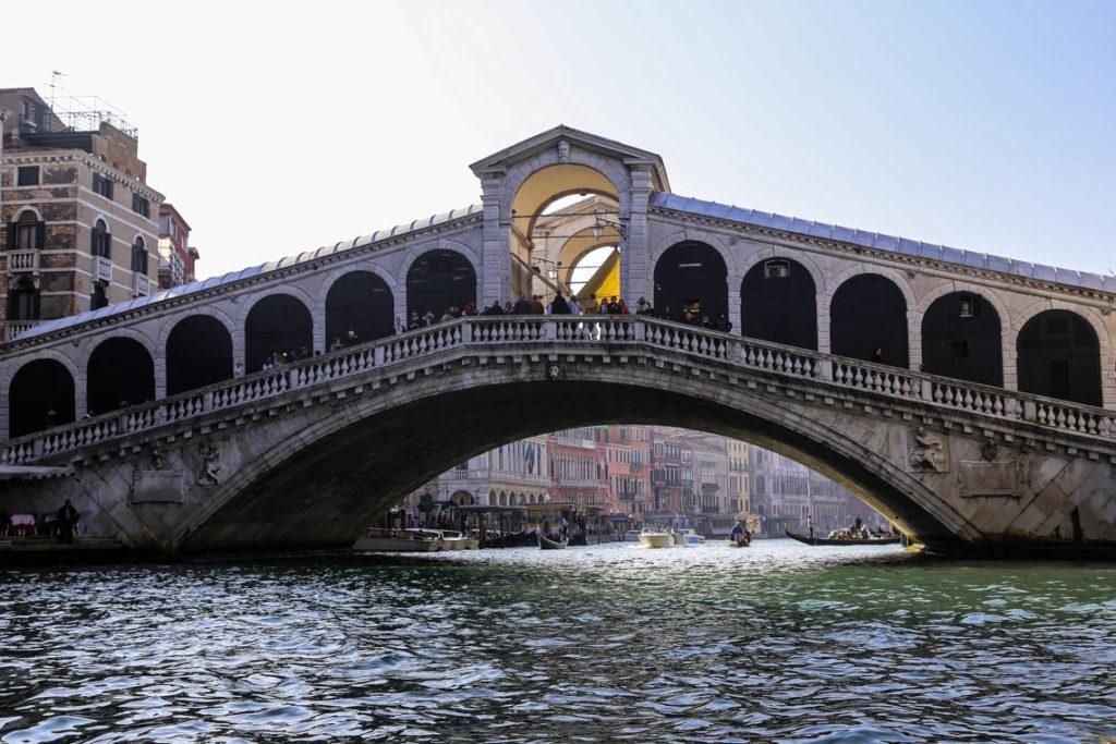 Wenecja - Most Rialto, 2 listopada 2014