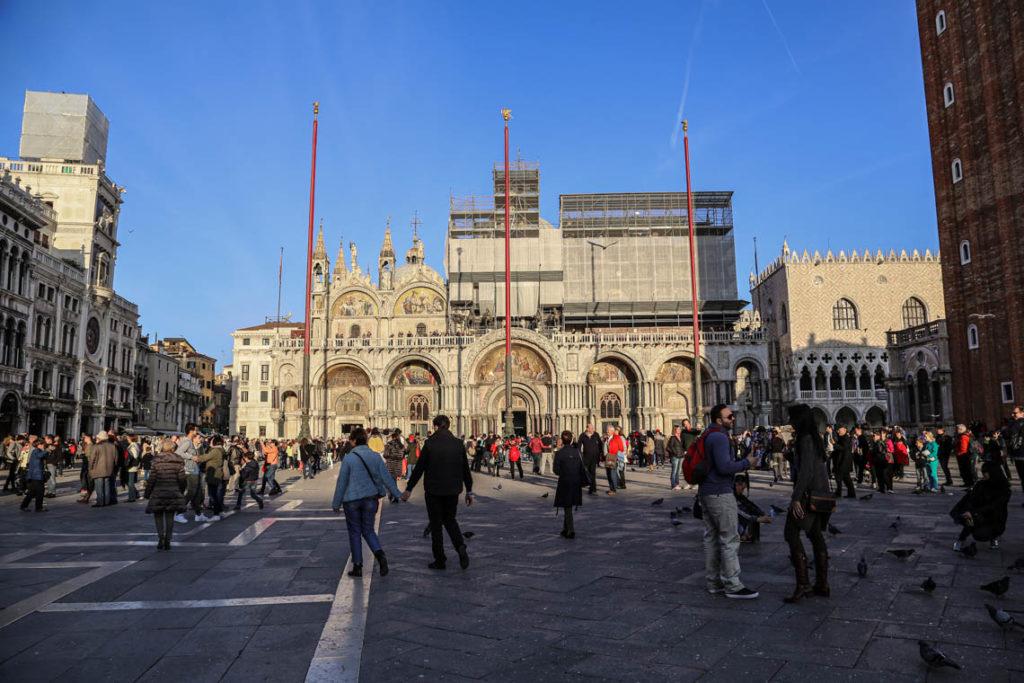 Wenecja - Plac Świętego Marka, 1 listopada 2014