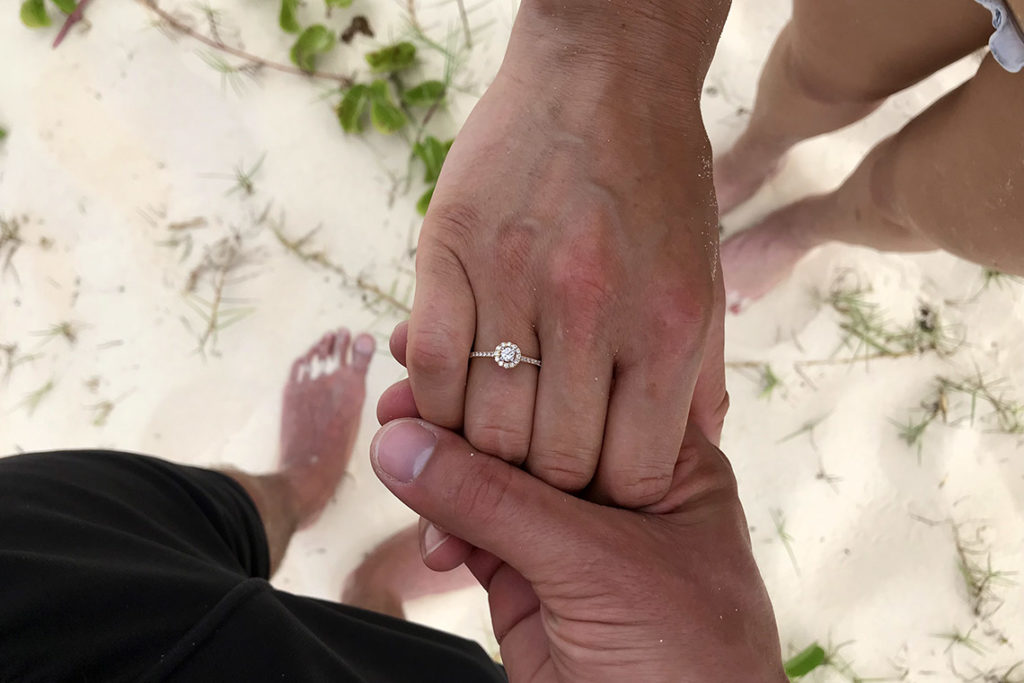 24 maja 2019, Punta Cana, Dominikana - nasze zaręczyny
