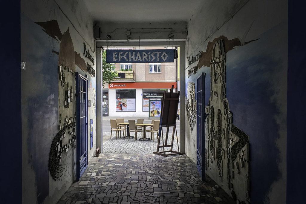 """Santorini Gdynia - """"efcharisto"""" czyli """"dziękuję"""" po grecku."""