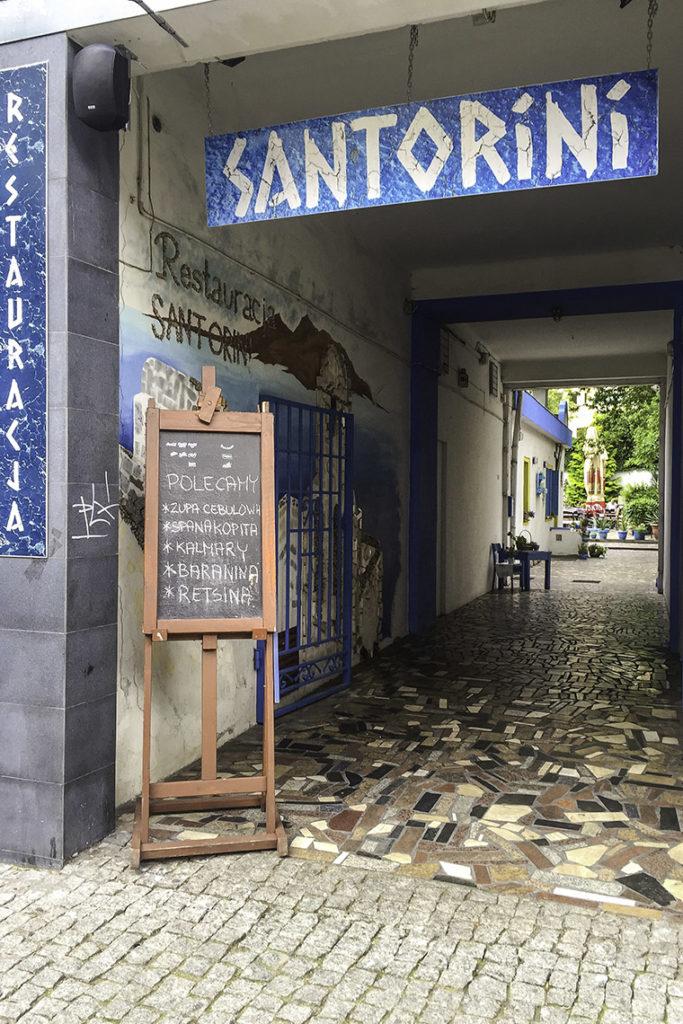 Kulinarna mapa Gdyni - Restauracja grecka Santorini