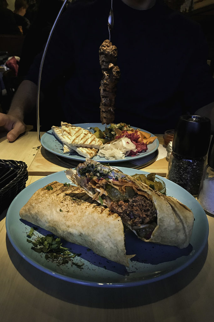 Taverna Zante Gdynia - shish i hot wrap