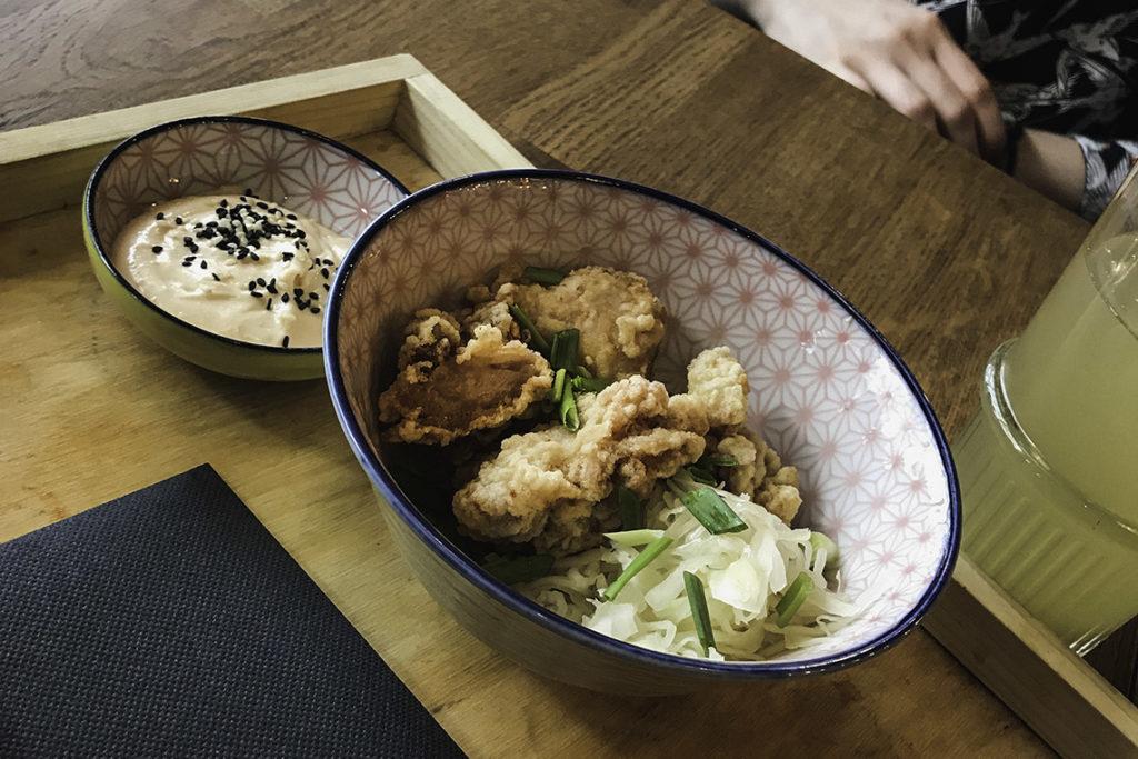 Umi Ramen - kurczak karaage