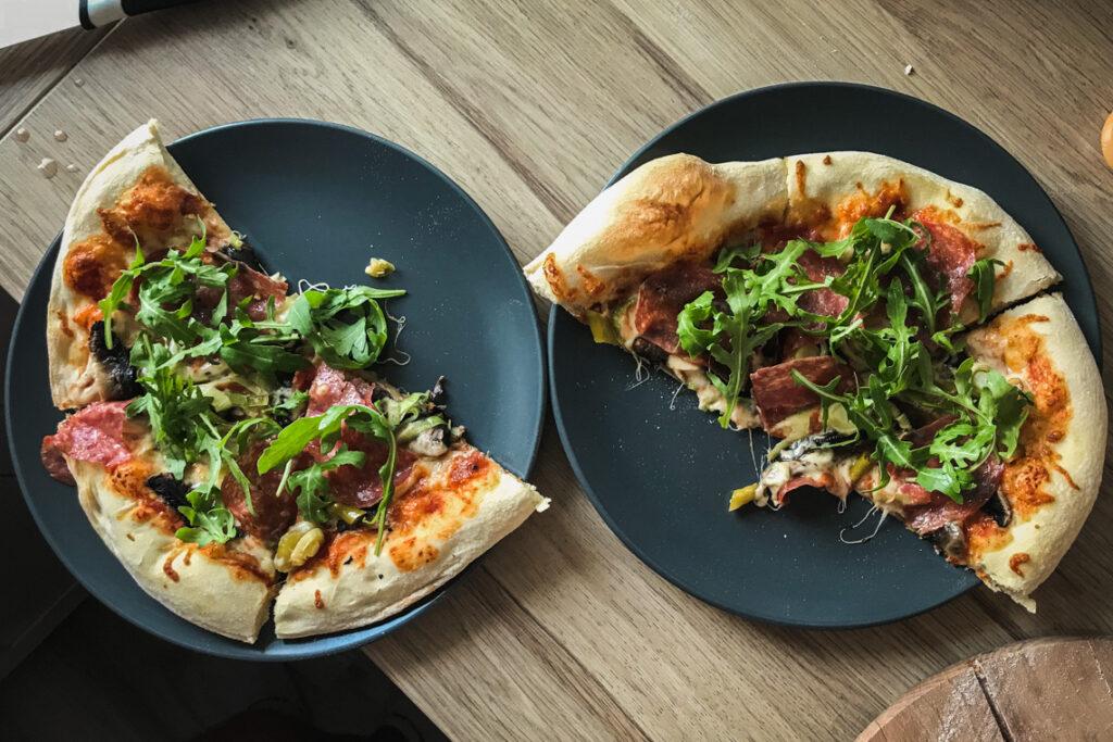 Mistrzowska domowa pizza autorstwa Tomka :D