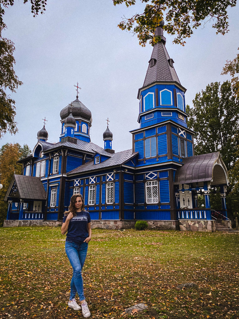 Przy niebieskiej cerkwi w Puchłach