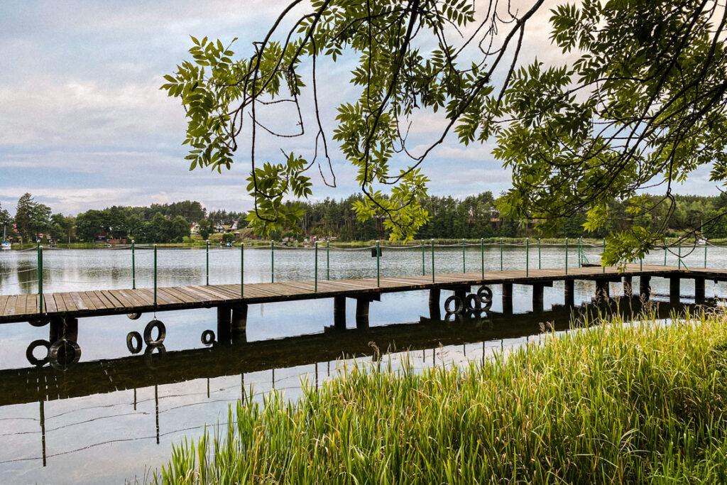 Jezioro Jelenie, Wdzydze Kiszewskie. Wrzesień 2020