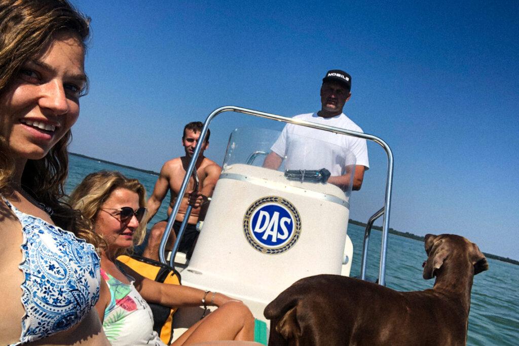 Rodzinna wyprawa - pontonem z Jastarni do Pucka! :)