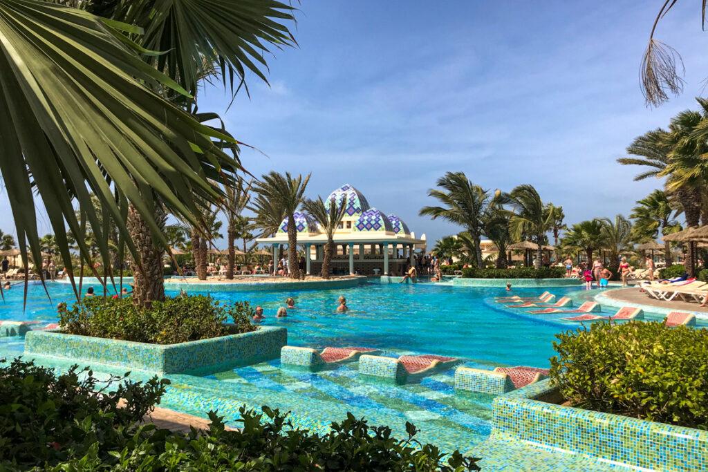 Hotel RIU Karamboa, Boa Vista (Republika Zielonego Przylądka). Luty 2020