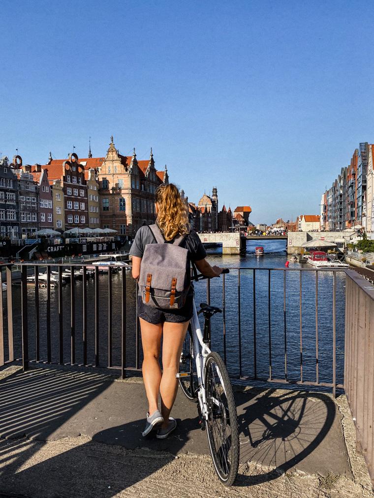 Most Krowi. Rowerem przez Gdańsk