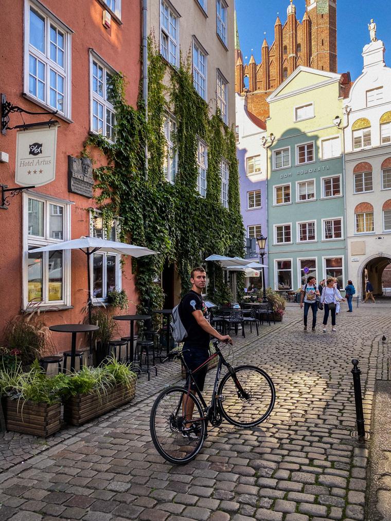 Główne Miasto, Gdańsk. W tle m.in. Bazylika Mariacka Wniebowzięcia Najświętszej Maryi Panny oraz Dom Adwokata, gdzie kiedyś przyjeżdżałam na zajęcia w ramach aplikacji