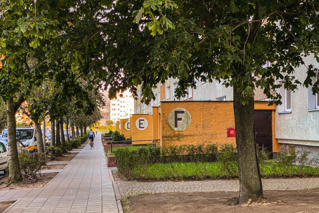 Rowerem przez osiedla, Gdańsk Zaspa
