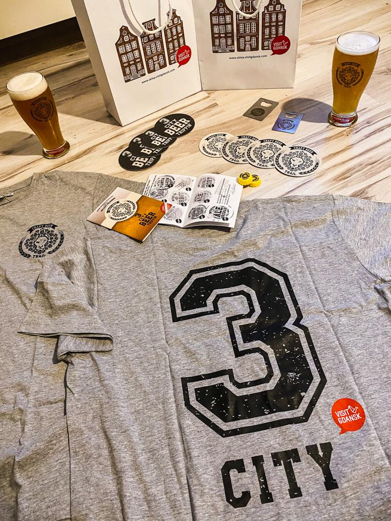 Nasze nagrody za zebranie wszystkich pieczątek na Trójmiejskim Szlaku Piwnym!