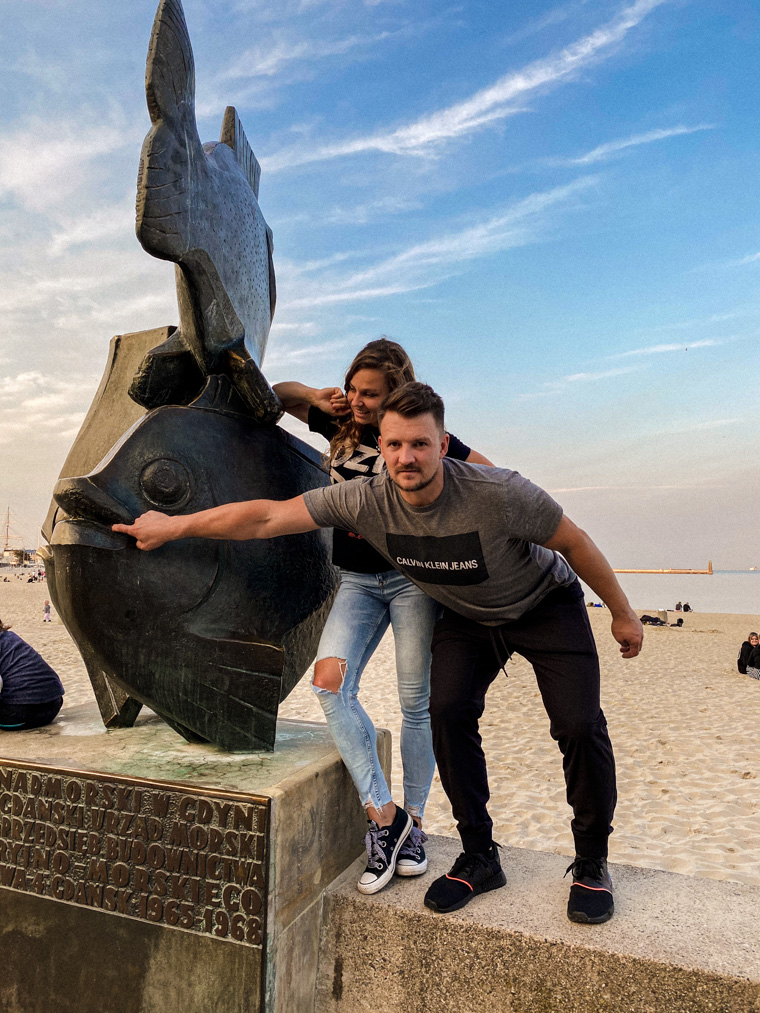Z kuzynem rozrabiamy w Gdyni, jak za dawnych lat :) 12 września 2020