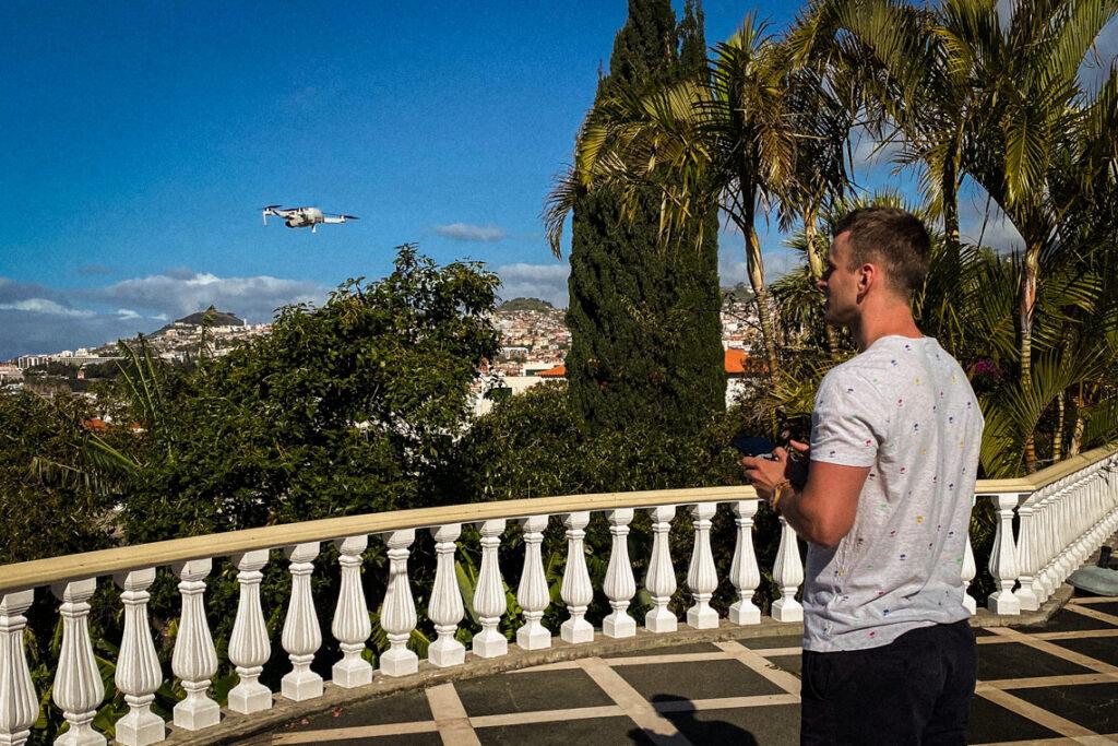 Pierwsze loty w hotelu Quinta Bela Sao Tiago w Funchal