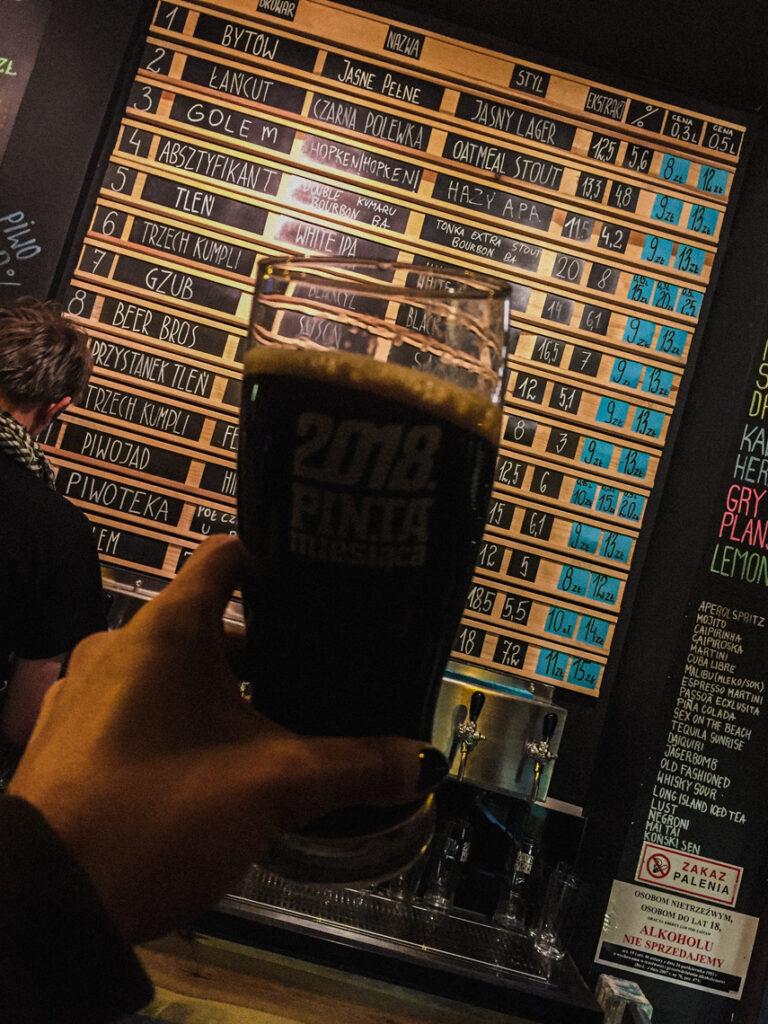 Grunt to mieć wybór! :) W Morzu Piwa znajdziecie aż 13 kranów z kraftowymi piwami z różnych browarów