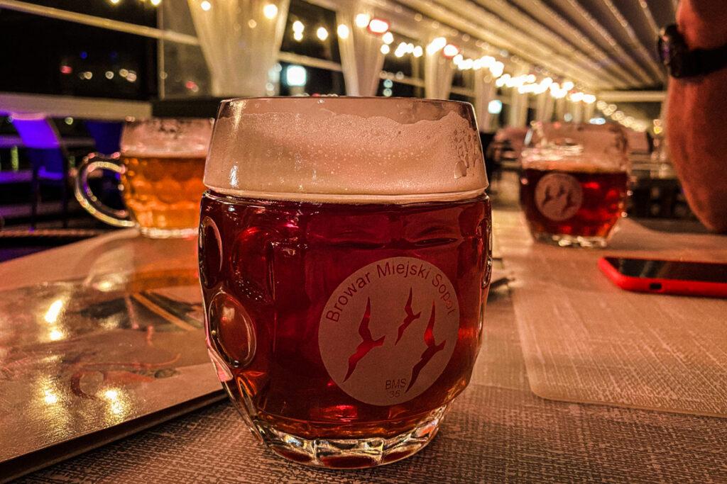 Kraftowe sopockie piwo w Tawernie Orłowskiej